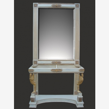 indonesia furniture Angel Console and Mirror