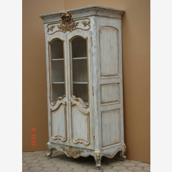 indonesia furniture Armoire French 2 Doors Open