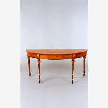 indonesia furniture Casey Halfmoon Console