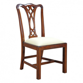 indonesia furniture Chippendale B Sidechair