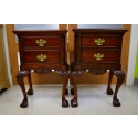 indonesia furniture Chippendale Bedside 2 Drawer