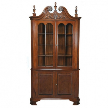 indonesia furniture Chippendale Corner Cabinet