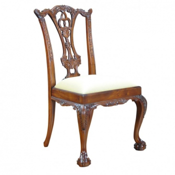 indonesia furniture Chippendale D Sidechair
