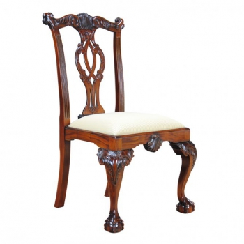 indonesia furniture Chippendale E Sidechair