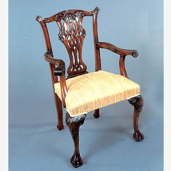 indonesia furniture Chippendale Laguna Armchair