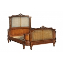 indonesia furniture French Rattan Bed King Size