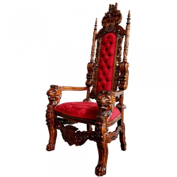 indonesia furniture Lion King Armchair