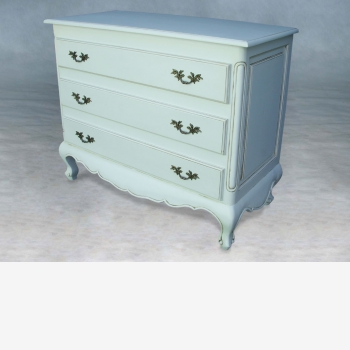 indonesia furniture Louis Plain Chest 3 drawer