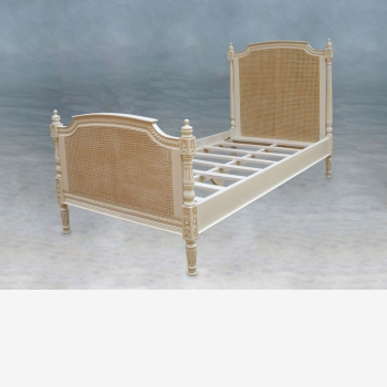 indonesia furniture Louis Rattan Bed Single Size