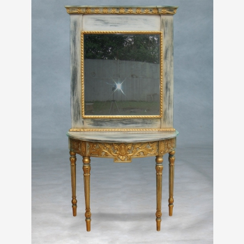 indonesia furniture Majapahit Console and Mirror