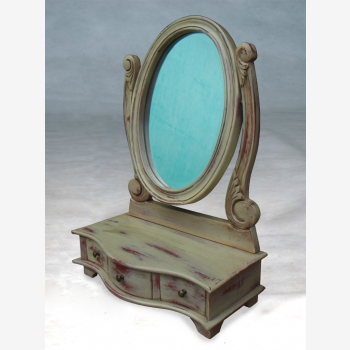 indonesia furniture Oval Toilet Mirror