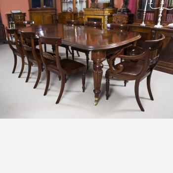 indonesia furniture Regency Dining Set of 8