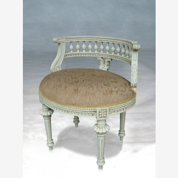 indonesia furniture Round Flute Back Chair