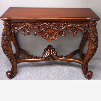 indonesia furniture Shell Console