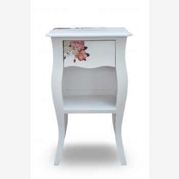 indonesia furniture Side Table 1 Drawer 4