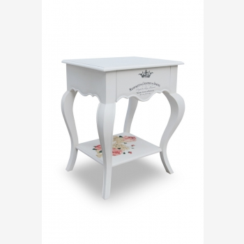 indonesia furniture Side Table 1 Drawer 8