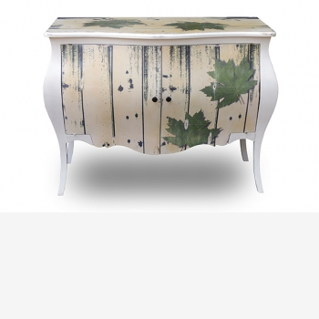 indonesia furniture Side Table 2 doors