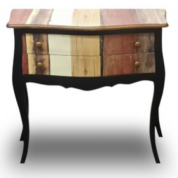 indonesia furniture Side Table 2 Drawer