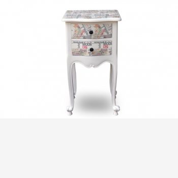 indonesia furniture Side Table 2 drawers 10