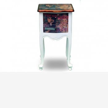 indonesia furniture Side Table 2 drawers 2