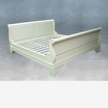 indonesia furniture Sleigh Bed King Size