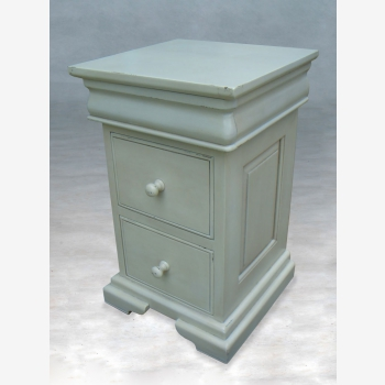 indonesia furniture Sleigh Nightstand