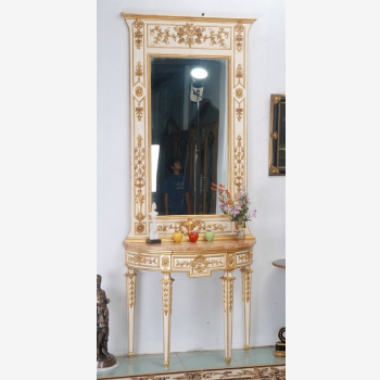 indonesia furniture Sofia Console and Mirror