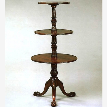 indonesia furniture Triple Plate Stand