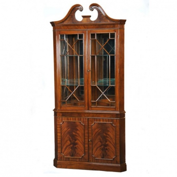 indonesia furniture Victorian Corner 2 Doors Veneer
